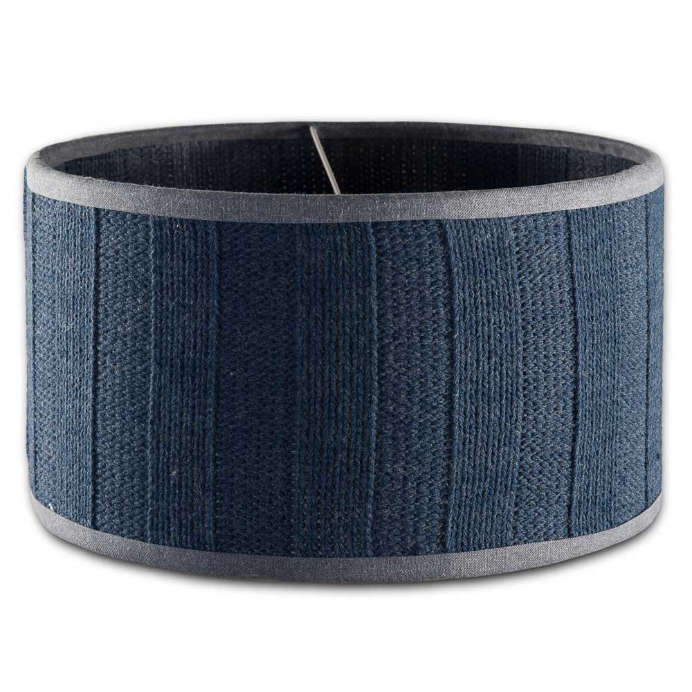 Lampenkap Rib Jeans 35cm