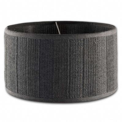 Knit Factory lampenkap gerstekorrel antraciet