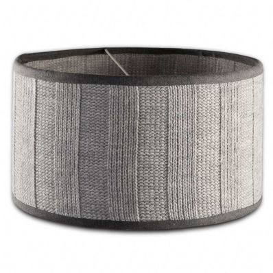 Knit Factory lampenkap gerstekorrel lichtgrijs