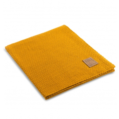 Knit Factory gebreid plaid Jesse beige