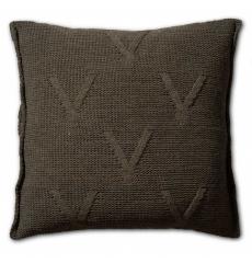Knit Factory gebreid kussen 50x50 Aran