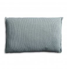 Knit Factory gebreid kussen uni stone green 60x40