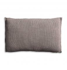Knit Factory gebreid kussen Uni taupe 60x40cm