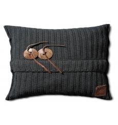 Knit Factory gebreid kussen 60x40 Aran