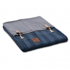 Gebreid plaid Rib Jeans